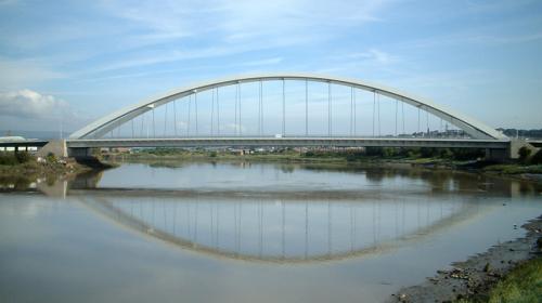 Tipos de puentes: Puente de arco